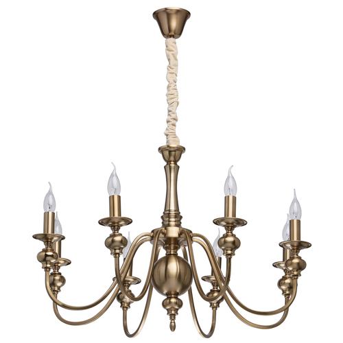 Závěsná lampa Consuelo Classic 8 Mosaz - 614010608