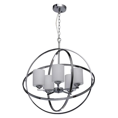 Závěsná lampa Alghero Loft 5 Chrome - 285010405