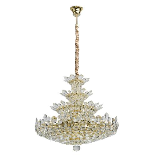 Závěsná lampa Laura Crystal 26 Gold - 345011226