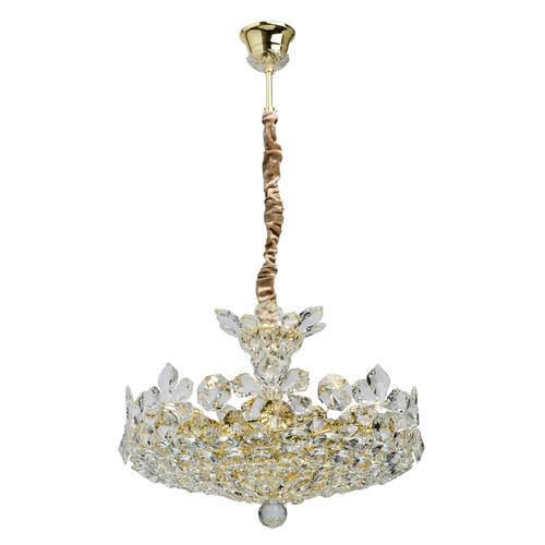 Závěsná lampa Laura Crystal 8 Gold - 345011508