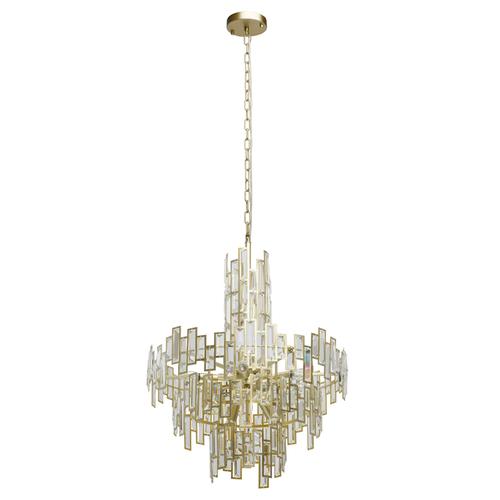 Závěsná lampa Monarch Crystal 11 Gold - 121010611