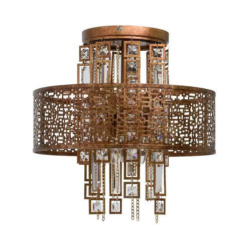 Závěsná lampa Maroko Loft 5 Copper - 185010205
