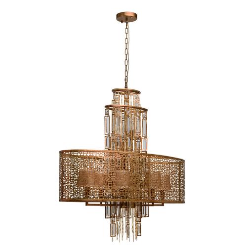 Závěsná lampa Maroko Loft 10 Copper - 185010410
