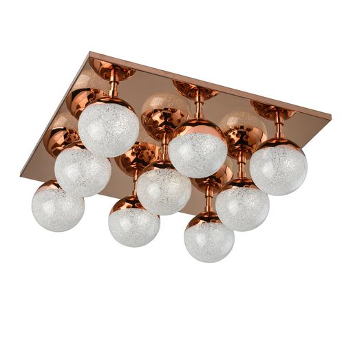 Závěsná lampa Kasper Hi-Tech 40 Copper - 707010809