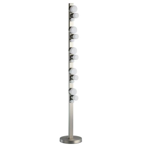 Stříbrná stojací lampa Morpheus Hi-Tech 30 - 710040515