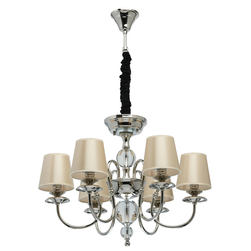 Závěsná lampa Sofia Elegance 6 Silver - 355013806