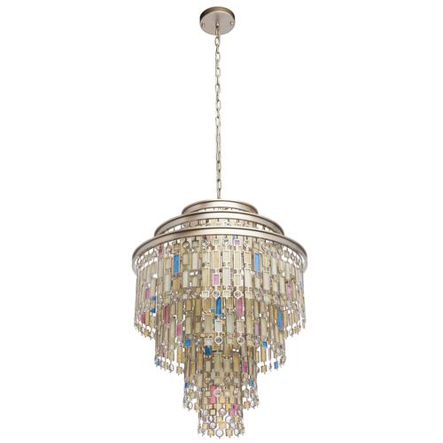 Závěsná lampa Maroko Země 9 Béžová - 185010809
