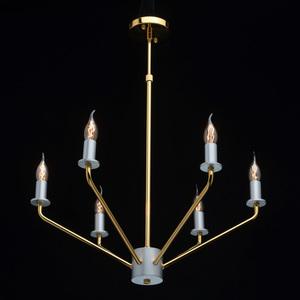 Závěsná lampa Hamburg Megapolis 6 Gold - 699010906 small 1