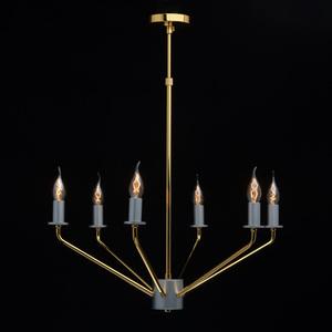 Závěsná lampa Hamburg Megapolis 6 Gold - 699010906 small 7