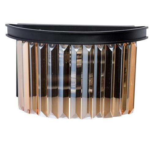 Nástěnná lampa Goslar Crystal 2 Černá - 498025402