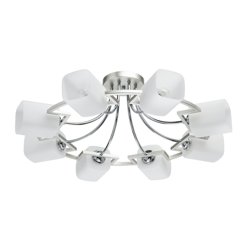 Závěsná lampa Alpha Megapolis 8 Silver - 673013508