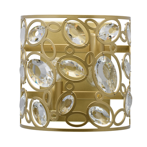 Sconce Laura Crystal 2 Gold - 345022602