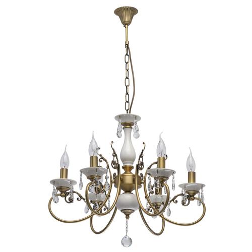Závěsná lampa Svíčka Classic 6 bílá - 683012406