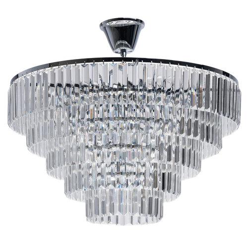Lampa wisząca Adelard Crystal 8 Chrom - 642013008