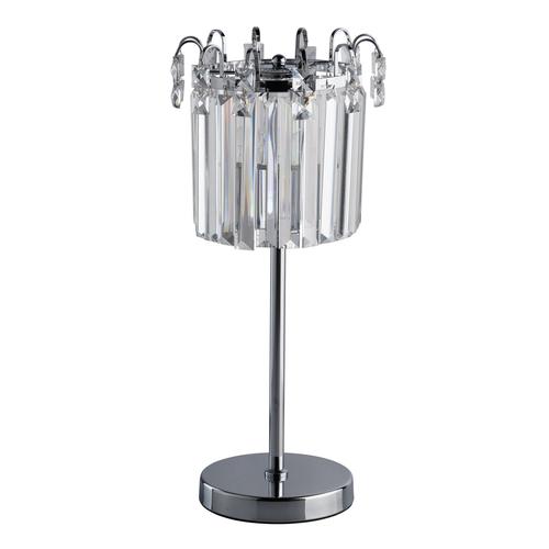 Stolní lampa Adelard Crystal 1 Chrome - 642033101