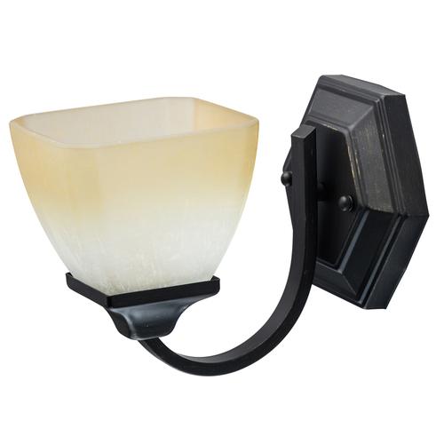 Nástěnná lampa Castle Country 1 Black - 249028401