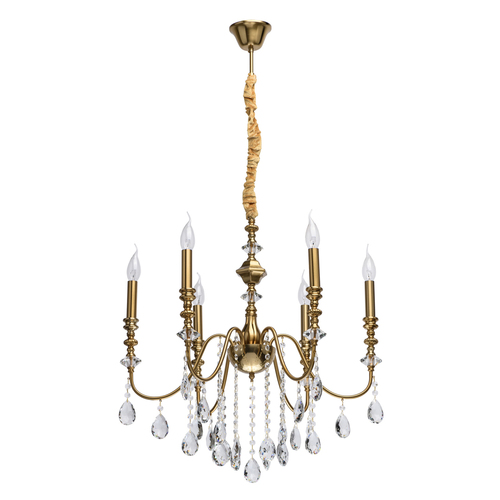 Závěsná lampa Consuelo Classic 6 Mosaz - 614012506