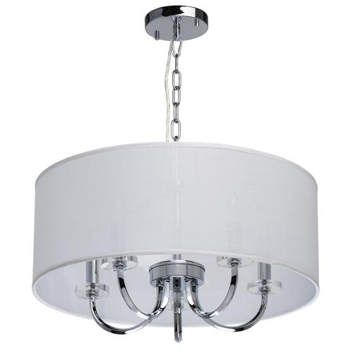 Závěsná lampa Palermo Elegance 5 Chrome - 386017205