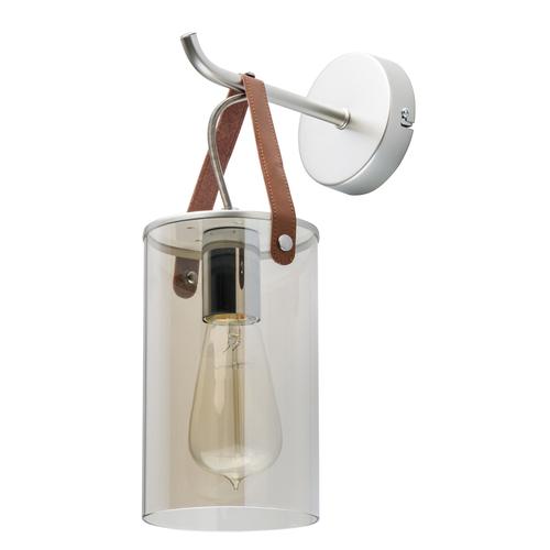 Nástěnná lampa Alpha Megapolis 1 Silver - 673025001