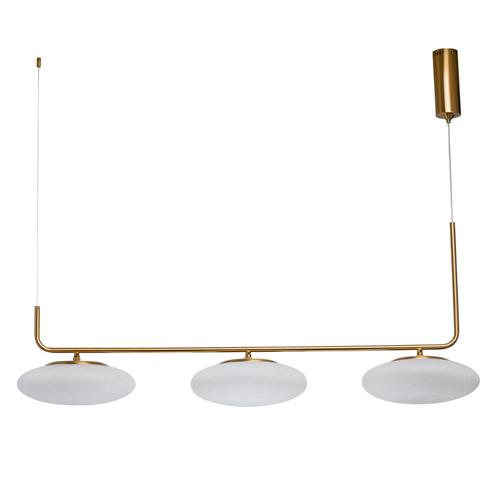 Závěsná lampa Auksis Hi-Tech 3 Gold - 722010903