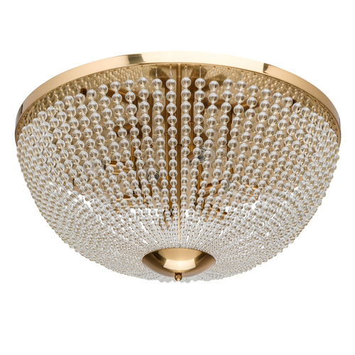 Závěsná lampa Venezia Crystal 10 Mosaz - 111012610