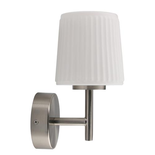 Nástěnná lampa Aqua Techno 1 stříbrná - 509024101