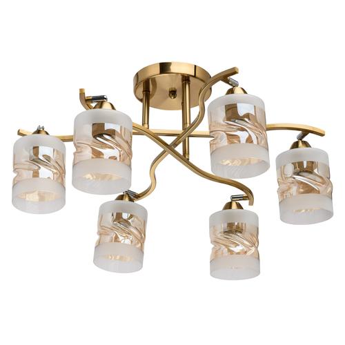 Závěsná lampa Olympia Megapolis 6 Mosaz - 638015606