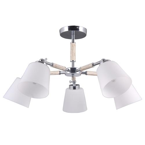 Závěsná lampa Forest Megapolis 5 Chrome - 693012205