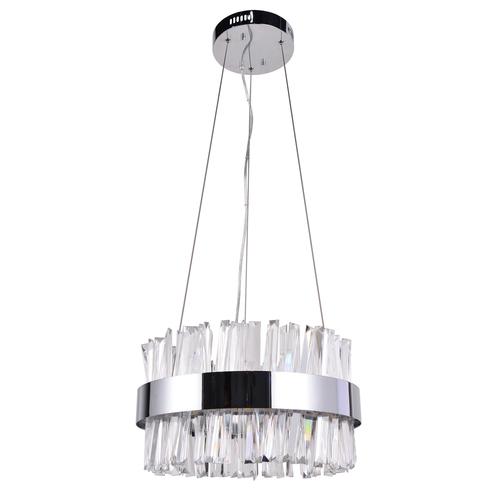 Závěsná lampa Adelard Crystal 55 Chrome - 642014501