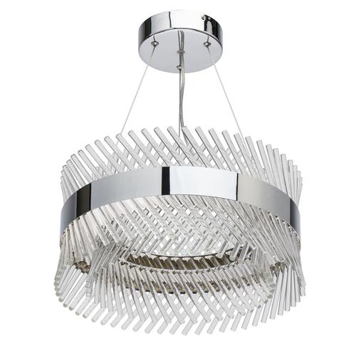 Závěsná lampa Adelard Crystal 34 Chrome - 642013601