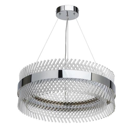 Závěsná lampa Adelard Crystal 52 Chrome - 642013701