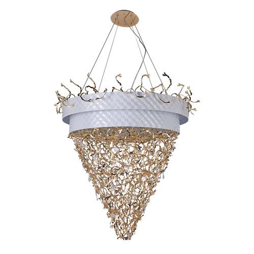 Závěsná lampa Carmen Megapolis 32 bílá - 394011432