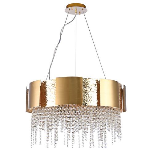 Závěsná lampa Carmen Crystal 12 Gold - 394012112