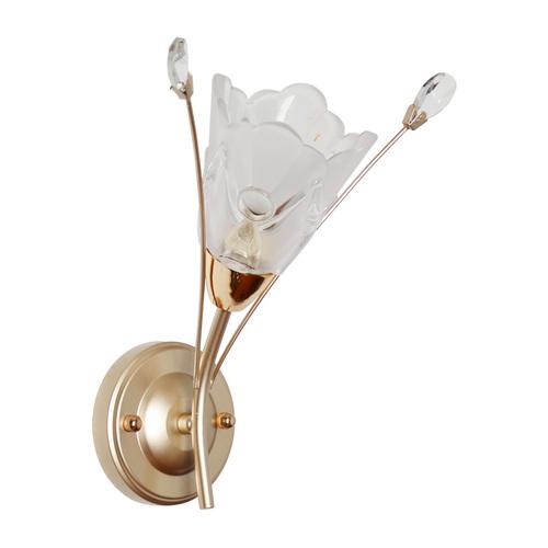 Nástěnná lampa Amelia Flora 1 Gold - 294026301