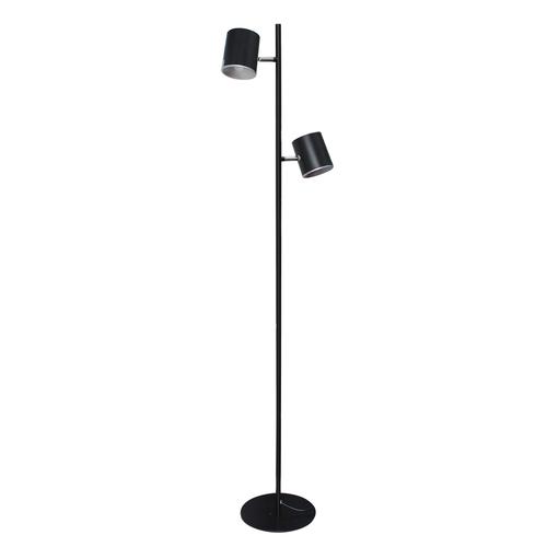 Lampa Podłogowa Edgar Hi-Tech 2 Czarny - 408042502