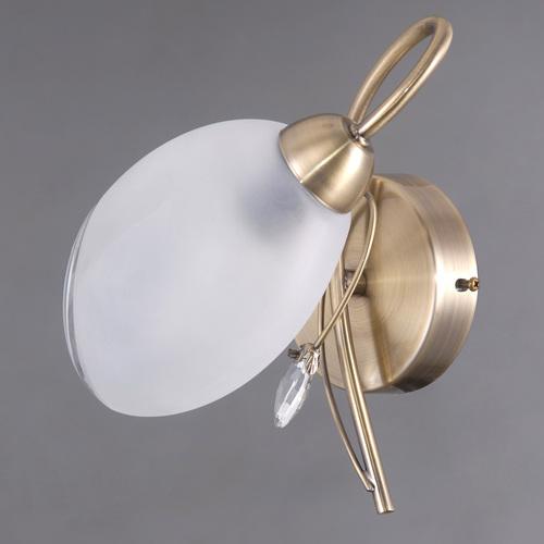 Nástěnná lampa Monica Classic 1 Mosaz - 372023901