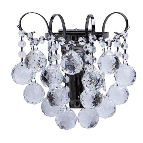 Sconce Pearl Crystal 1 Grey - 232027901