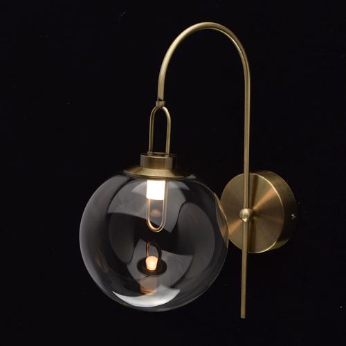 Nástěnná lampa Cottbus Megapolis 1 Mosaz - 657021501
