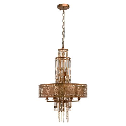 Závěsná lampa Maroko Loft 10 Copper - 185010310