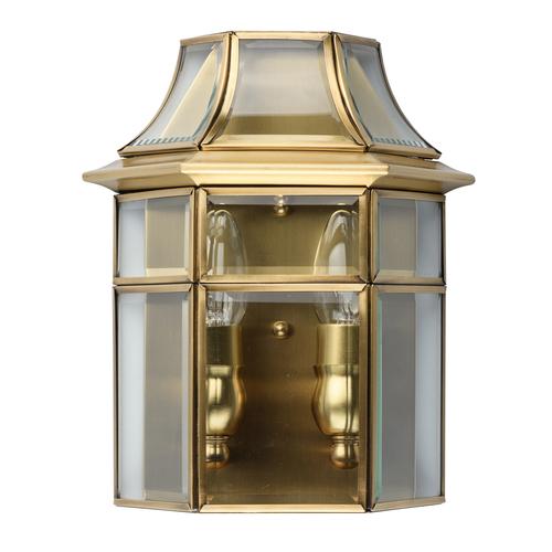 Nástěnná lampa Corso Street 2 Mosaz - 802021802
