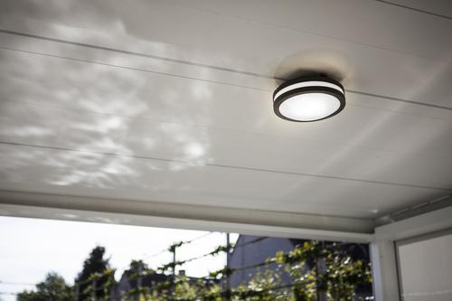 Venkovní stropní lampa Lutec TITAN