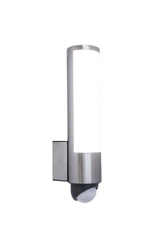 Venkovní nástěnná lampa se snímačem pohybu Lutec LEDA