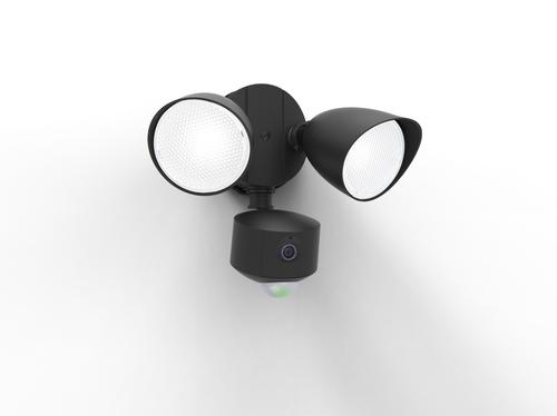 Duální venkovní světlomet s pohybovým senzorem a Lutec DRACO audio videokamerou