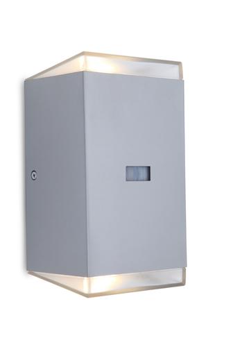 Venkovní nástěnná lampa se snímačem pohybu Lutec PATH