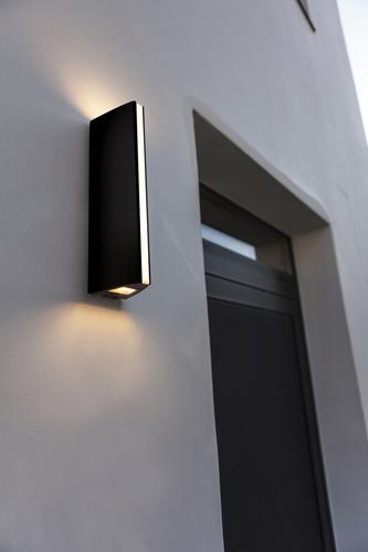 Stylová moderní nástěnná lampa Lutec LEO