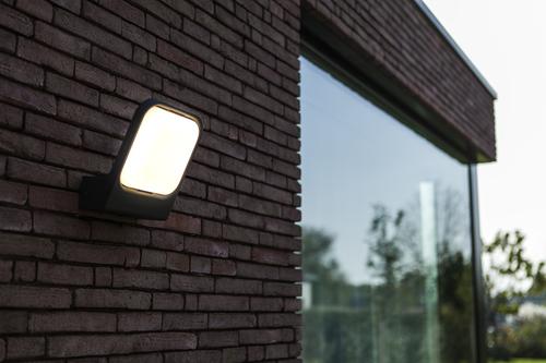 Lutec FACCIA antracitová venkovní nástěnná lampa