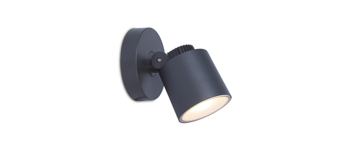 Venkovní nástěnná lampa Lutec EXPLORER 380lm