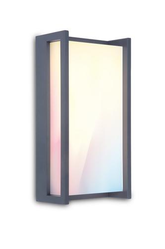 Venkovní nástěnná lampa Lutec QUBO