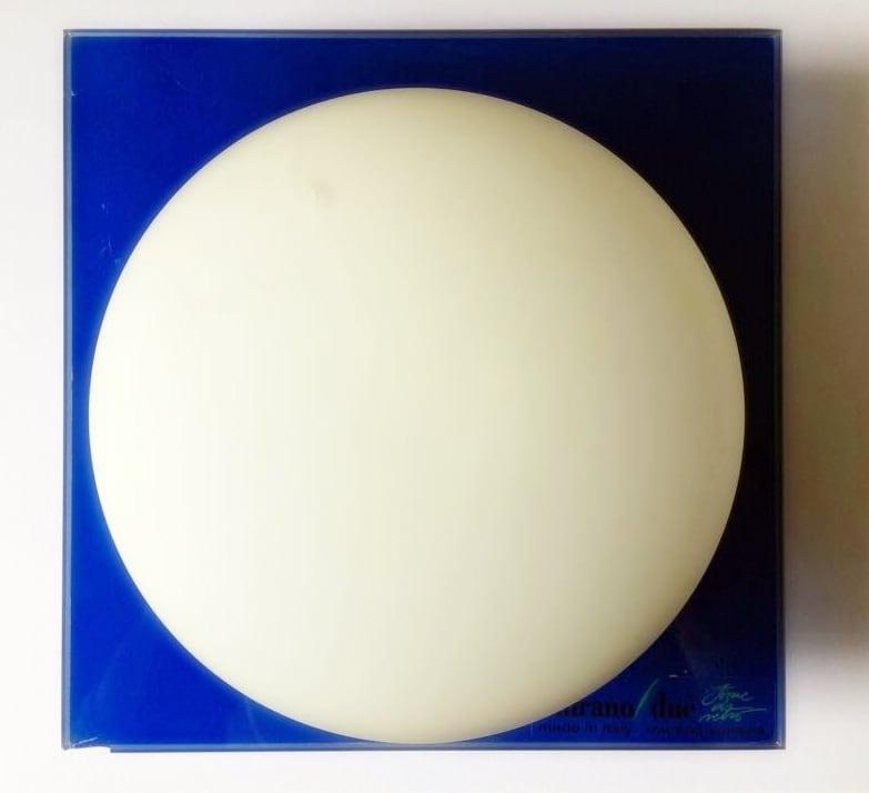 Nástěnná svítidla Murano Due (Leucos) Mini Gio modrá / bílá 40W G9 (1)