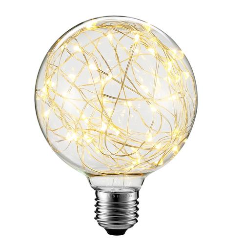 Dekorativní LED světlomet G125 E27 2W 230V žlutá